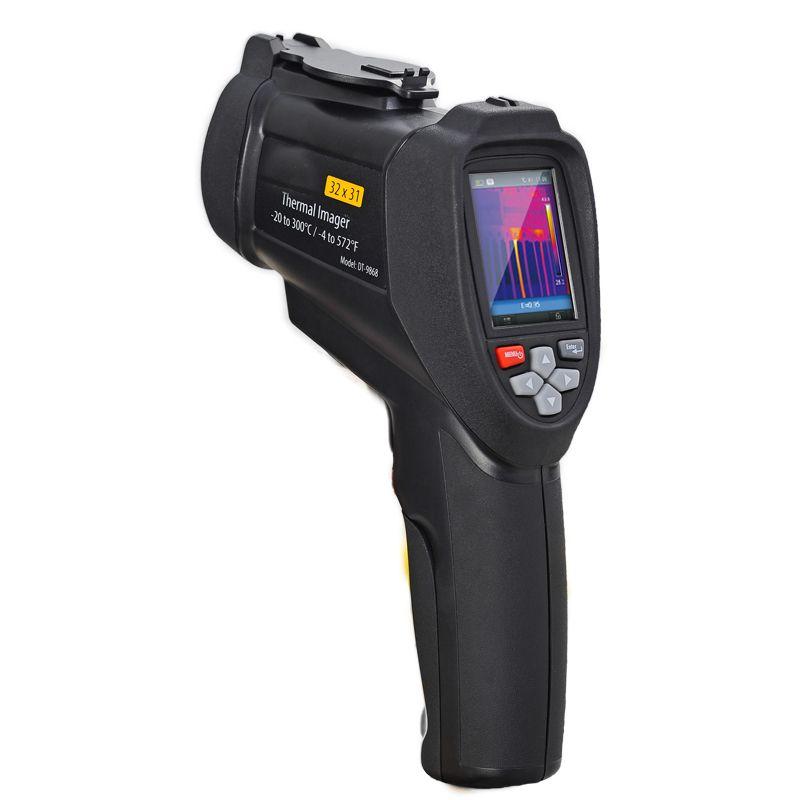 DT-9868 handheld Temperatur control instrument professionelle Infrarot thermische imager 320*240 TFT LCD display Thermische kamera