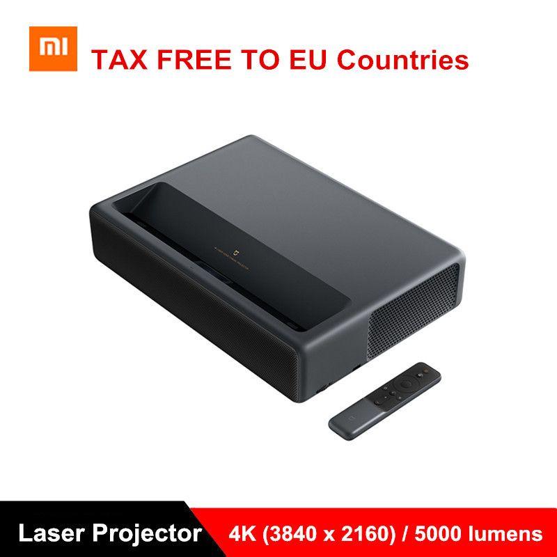 Xiaomi Mijia Laser Projektor Projektion TV Full HD 4K 1500ANSI Heimkino Android 6.0 5000Lumen 2G RAM 16G 3D Projektor