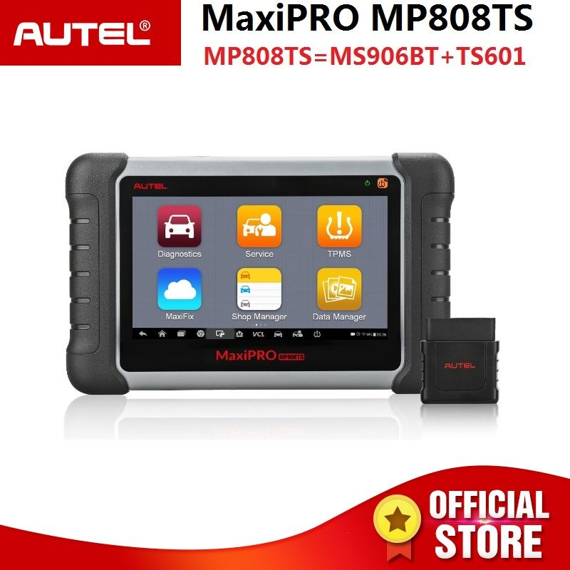 Autel MaxiPRO MP808TS Automotive Diagnostic Scanner Tool (Kombination von DS808 + TPMS) TPMS Lösungen Komplette Diagnose Funktion