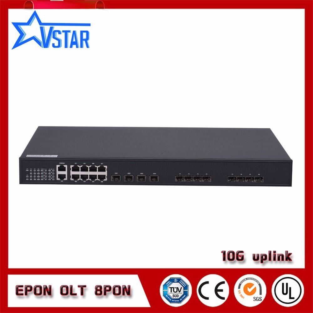 8PON ports EPON OLT with ce certification