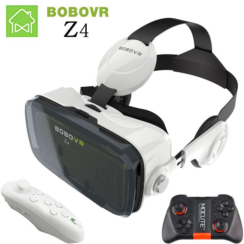 VR Box 2.0 3D VR Glasses Bobovr Z4 Mini Virtual Reality Headset Gafas Goggles Google Cardboard Original For Smartphone