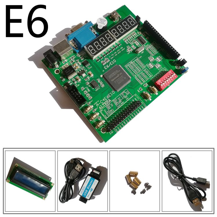 USB BLASTER + LCD1602 + carte fpga altera + carte de développement altera fpga + carte de développement fpga