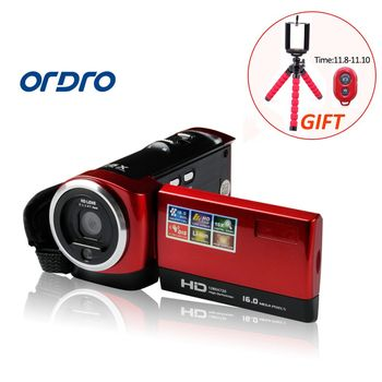 HD 16X Zoom Digital Photo Cameras Video Camcorders with Face Recognition 2.7 inch LCD Screen Professional Camera Recorder