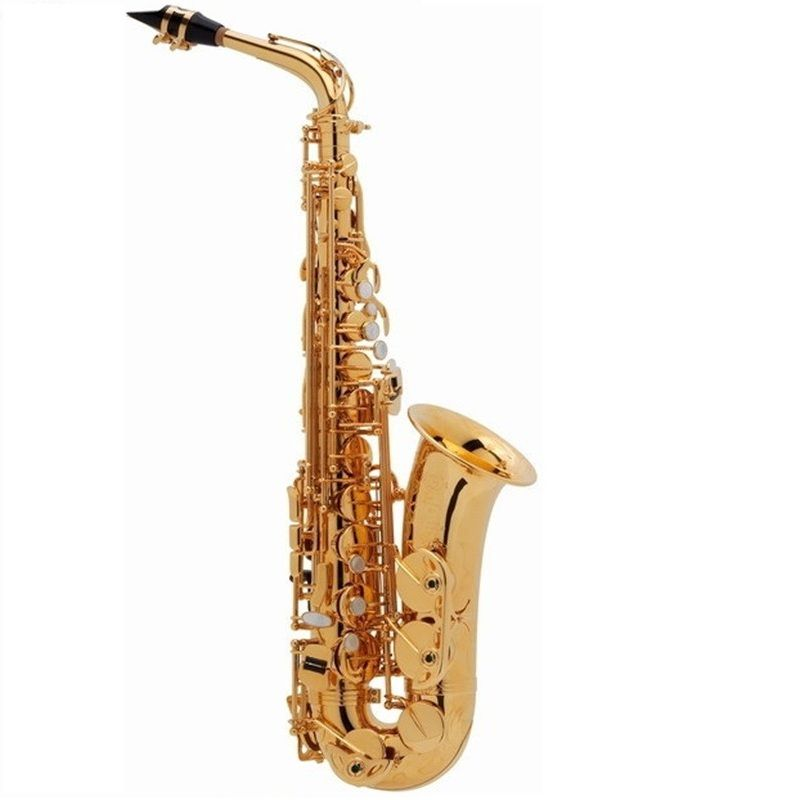 High Quality France Henri SAS-802 New Golden Sax E Flat Alto Saxophone Super Playing Musical Instruments Mouthpiece Sax Free
