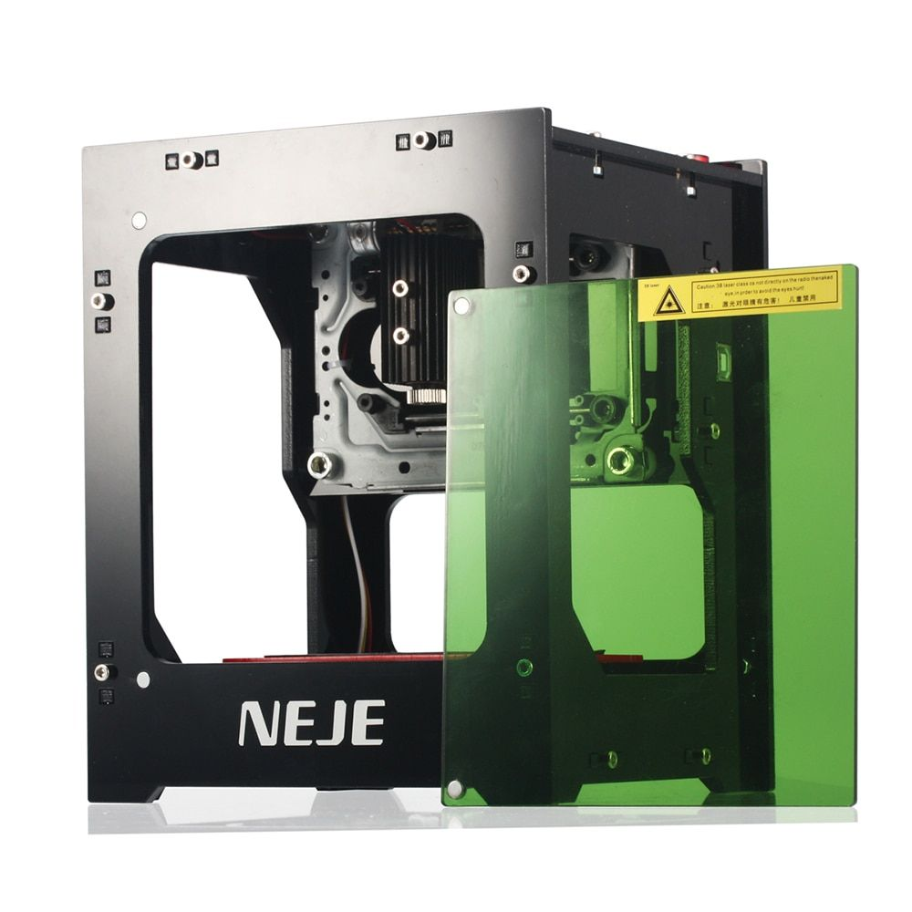 NEJE Mini USB Laser Engraver Carver Automatic DIY Print Engraving Carving Machine Off-line Operation with <font><b>Protective</b></font> Glasses