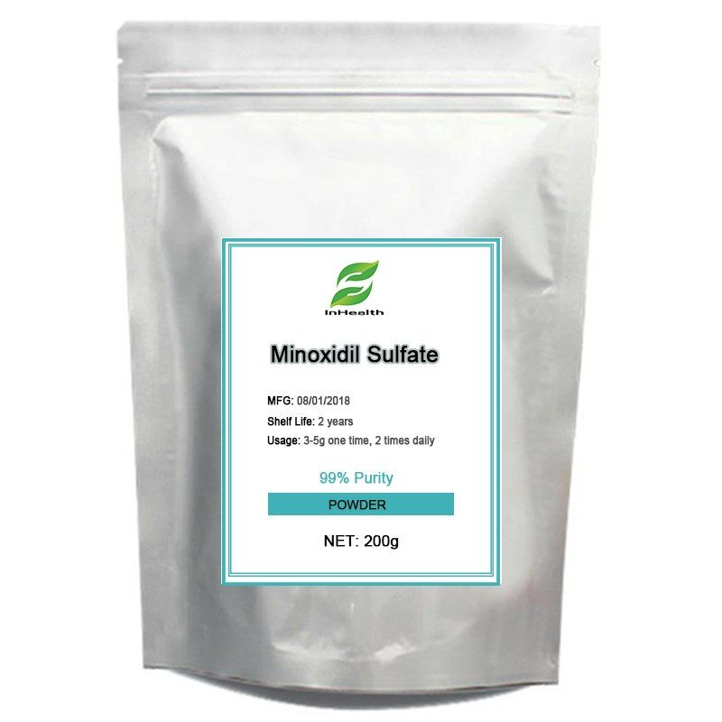 200g Natural Best quality 99% Purity Minoxidil Sulfate, Hair growth, Hair loss treatment