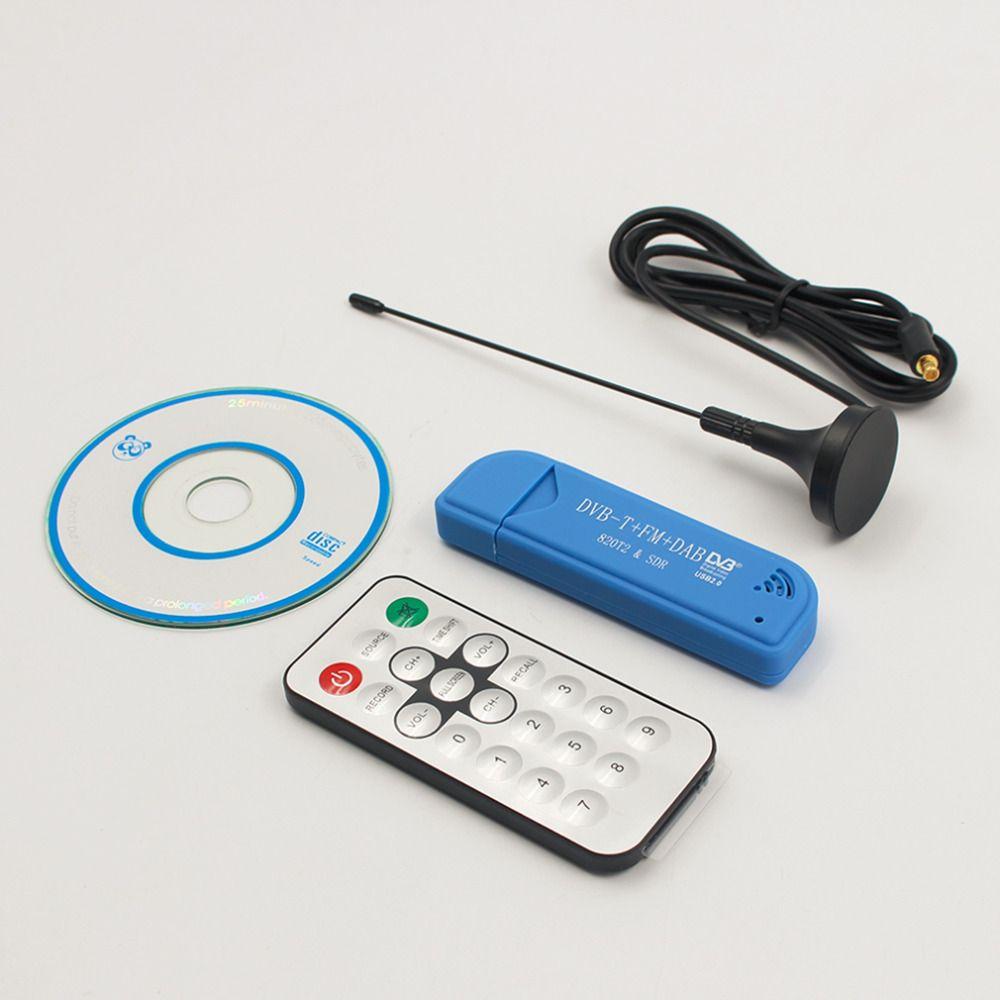 Новинка 2017 года USB 2.0 цифровой dvb-t SDR + DAB + FM HD ТВ тюнер приемник палка RTL2832U + r820t2 высокое качество оптовая продажа