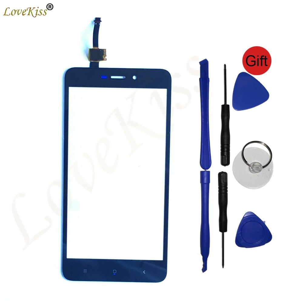 Redmi 4 Front Panel For Xiaomi Redmi 4A 4 Pro Prime 4Pro 4Prime Touch Screen Sensor LCD Display Digitizer Outer Glass Cover Tool