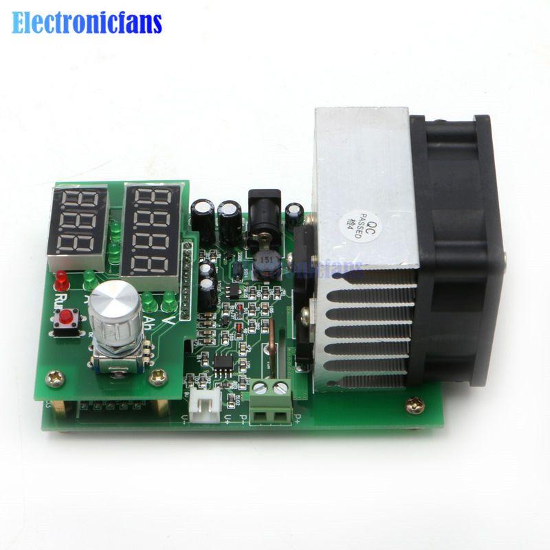 9.99A 30 V 60 W Konstante Strom Elektronische Last Entladung Batterie Kapazität Tester