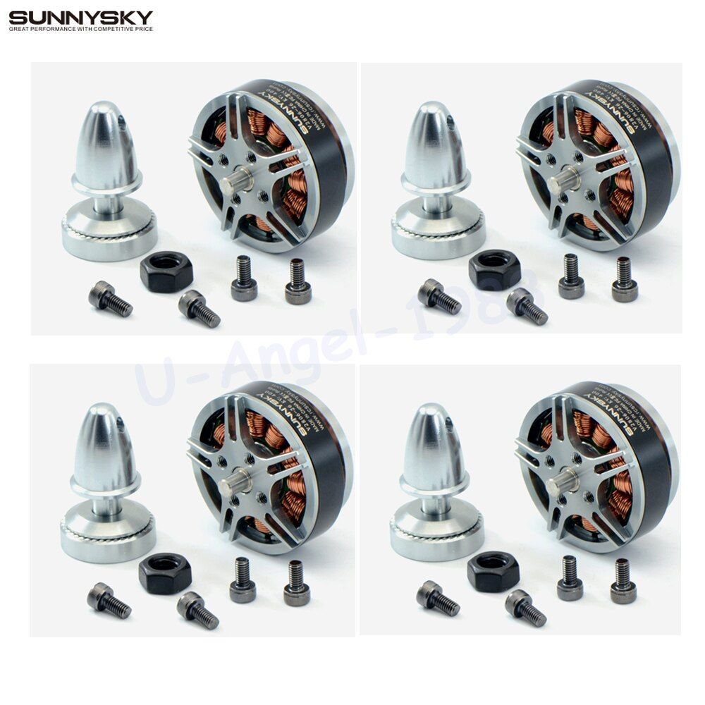 4set/lot Sunnysky V2806 400kv 650KV disc motor for RC model aircraft quadcopter multi-rotor drone accessories