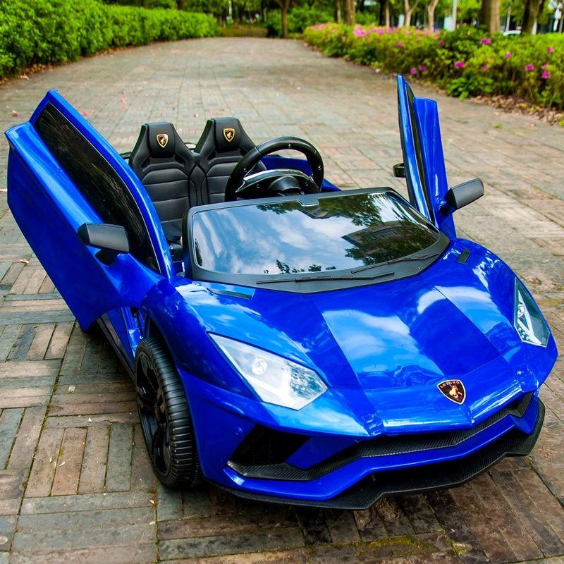 Kinder elektrische auto vier rädern doppel auto mit fernbedienung baby auto 1-3 spielzeug 4-5 jahre alt können sitz zwei menschen.