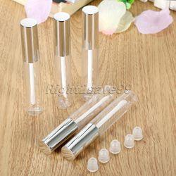 Baru Kedatangan 5 pcs 10 ml Lip Lucu Botol Kosong Wadah Kosmetik Tabung Travel Gloss Cukup Kosong Jelas Lip Wadah untuk Makeup