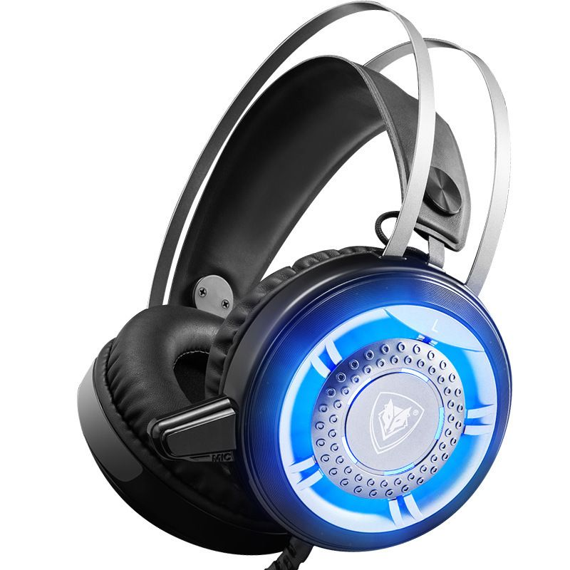 Nouveau casque de jeu filaire Cool jeu de basse profonde écouteur casque d'ordinateur avec Microphone écouteurs lumineux à LED pour ordinateur PC