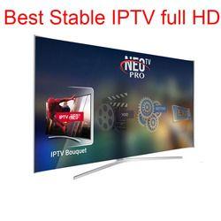 Neotv pro IPTV abonnement aux Neo italien espagnol année code 1800 IPTV canaux et 2000 films Europe belgique portugal