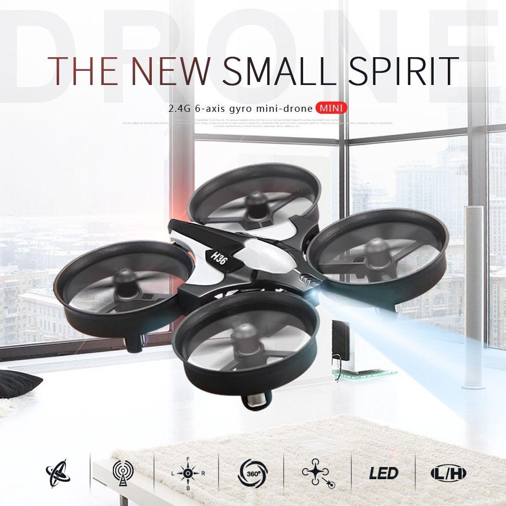 JJR/C JJRC H36 Mini Drone RC Drone Quadricoptères Sans Tête Mode un Retour Key Hélicoptère Drone Jouets RTF Enfants de Baisse de Soutien gratuite