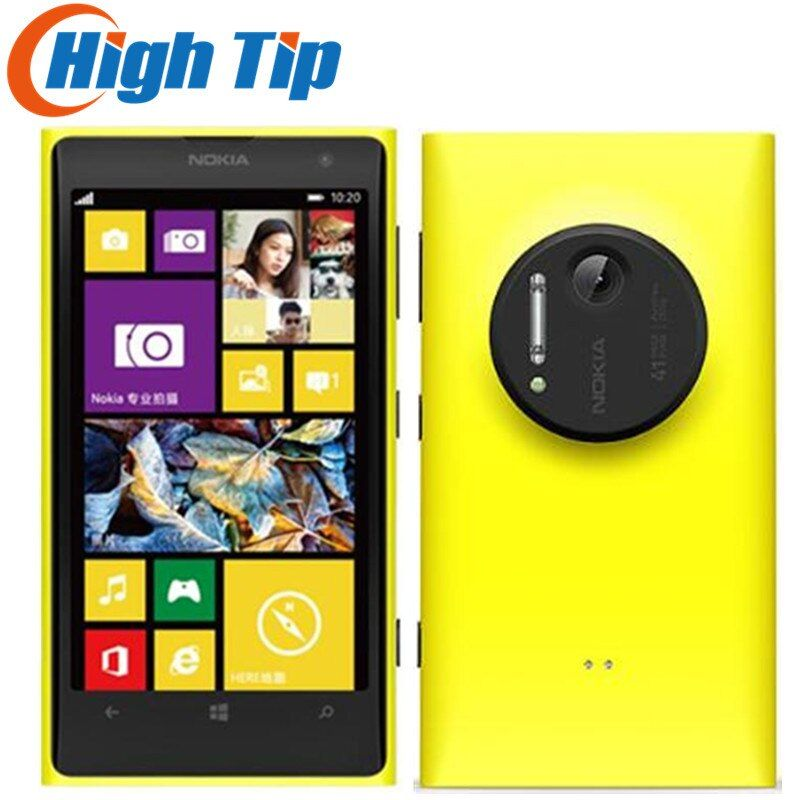 Free gift! Nokia Lumia 1020 original mobile phone unlocked 4.5