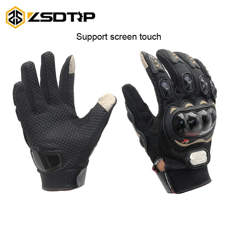 ZSDTRP-Touch Screen Gloves Motorcycle Gloves Winter&Summer Motos Luvas Guantes Protective Gear Racing Gloves