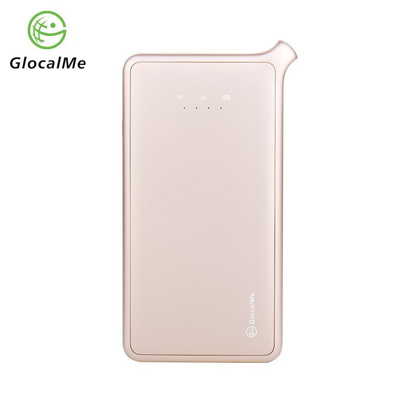 GlocalMe 4G Mobile Router Portable Wifi Router Free Roaming No Sim Card Power Bank New 2018