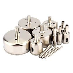 14Pcs/Set 3mm to 70mm Diamond Glass Cutter Coated Hole Saw Drill Bit Tools for Glass Marble Tile Wood Tiling Tool