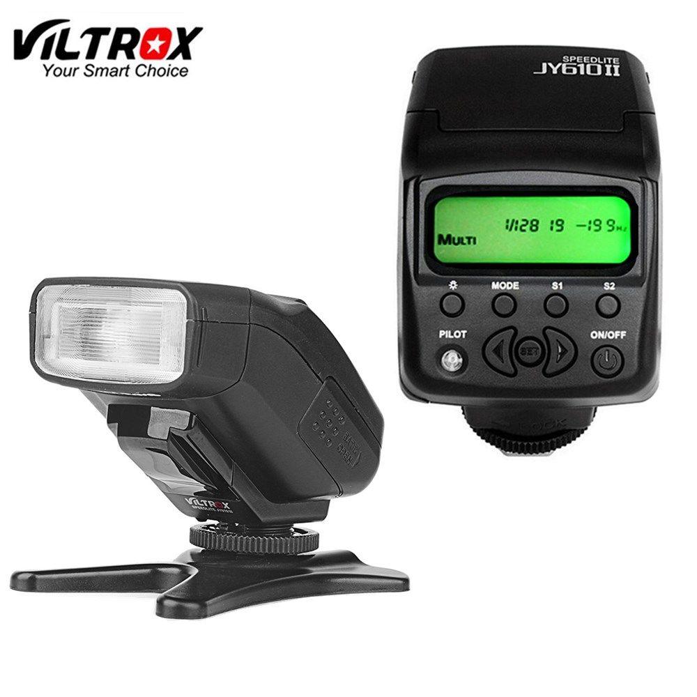 Viltrox JY610II Mini LCD Speedlite Camera Flash Light for sony a9 a6500 a7sii a7rii a7s a7r a6300 a6000 a7 a3000 a58