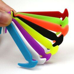 Creative Design Unisex Shoelaces No Tie Running Elastic Shoelaces Elastic Silicone Shoe Lace All Sneakers 8 Colors Optional Lazy