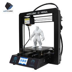 ANYCUBIC 3D Drucker I3 Mega Große Plus Größe Volle Metall TFT Touch Screen 3d Drucker Hohe Präzision 3D Drucker Impresora teile