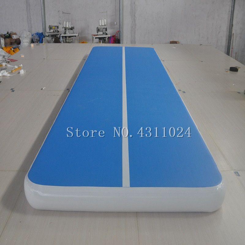 Freies Verschiffen 6x2x0,2 mt Aufblasbare Gymnastik Matte Air Track Tumbling Matte Aufblasbare Gymnastik Airtrack Für Ausbildung mit eine Pumpe