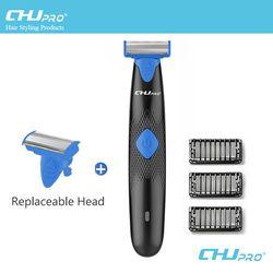 CHJ Oneblade Shaver USB Rechargeable Shaving Machine Shaver Razor Lightweight Electric Shaver For Men Trimmer Barbeador