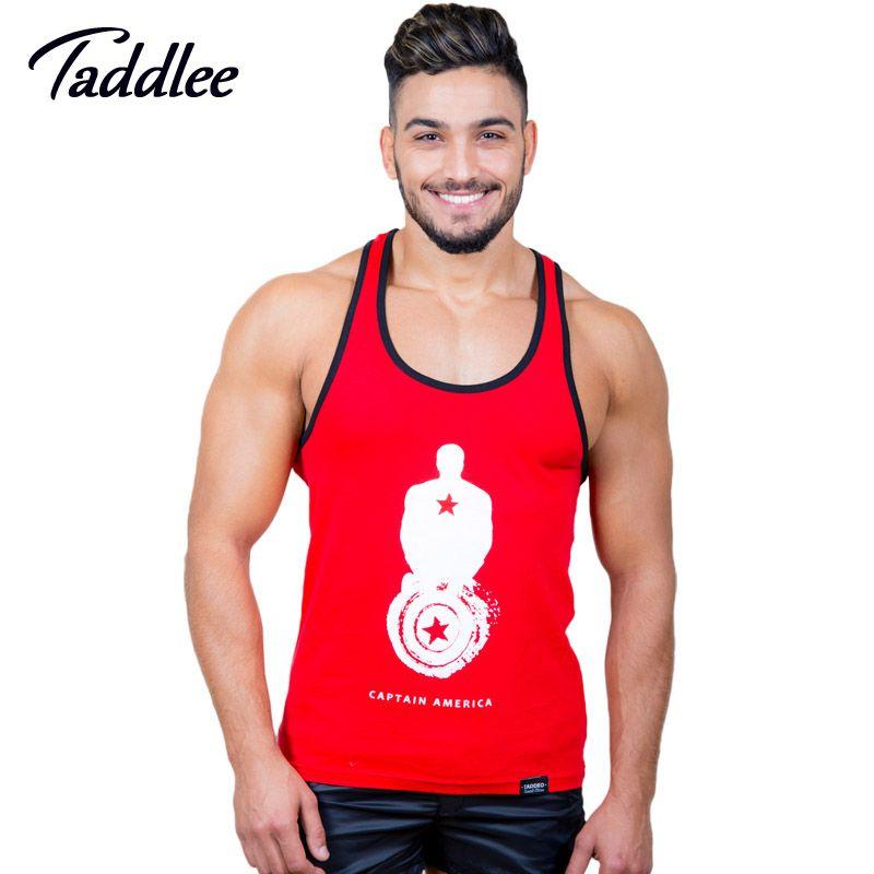 Taddlee бренд Для мужчин Топ Майки Рубашки для мальчиков без рукавов футболки Майки центр Run Баскетбол футболка Майки Стрингер мышц