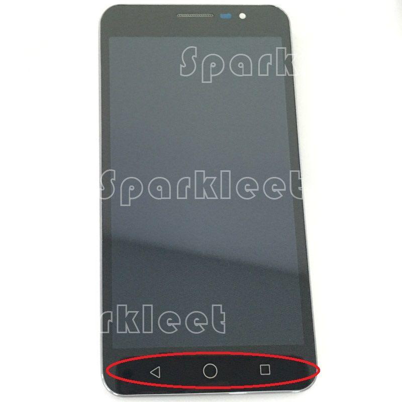 Nouveau LCD noir avec assemblage de numériseur d'affichage de cadre pour Coolpad Modena E501 avec remplacement de Smartphone d'écran tactile