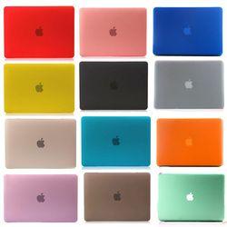 Permukaan Buram Matte Hard Cover Case untuk MacBook Air 11 13 Pro 13 15 Retina 12 13 15 Inch Laptop tas untuk Mac Buku Pro 13 Kasus