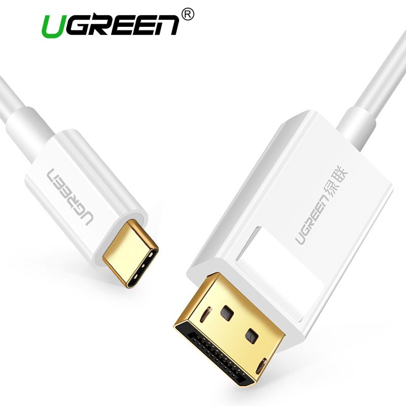 Ugreen USB C DP Cable 4K Resolution USB Type-C to DisplayPort for MacBook Pro Samsung S8 Huawei Mate 10 USB-C to DP Cable