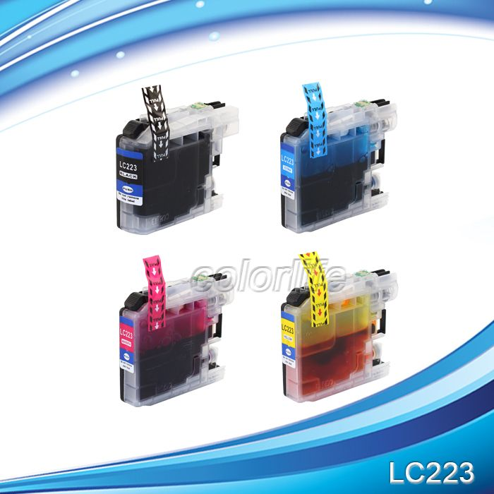 Hot in Europe,LC223 compatible inkjet cartridge suitable for  MFC-J5320DW,MFC-J5620DW etc.