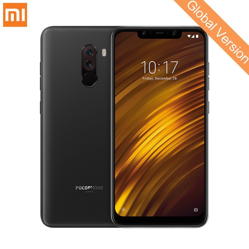 Global Version Xiaomi POCOPHONE F1 6GB 64GB Mobile Phone Snapdragon 845 Octa Core 6.18