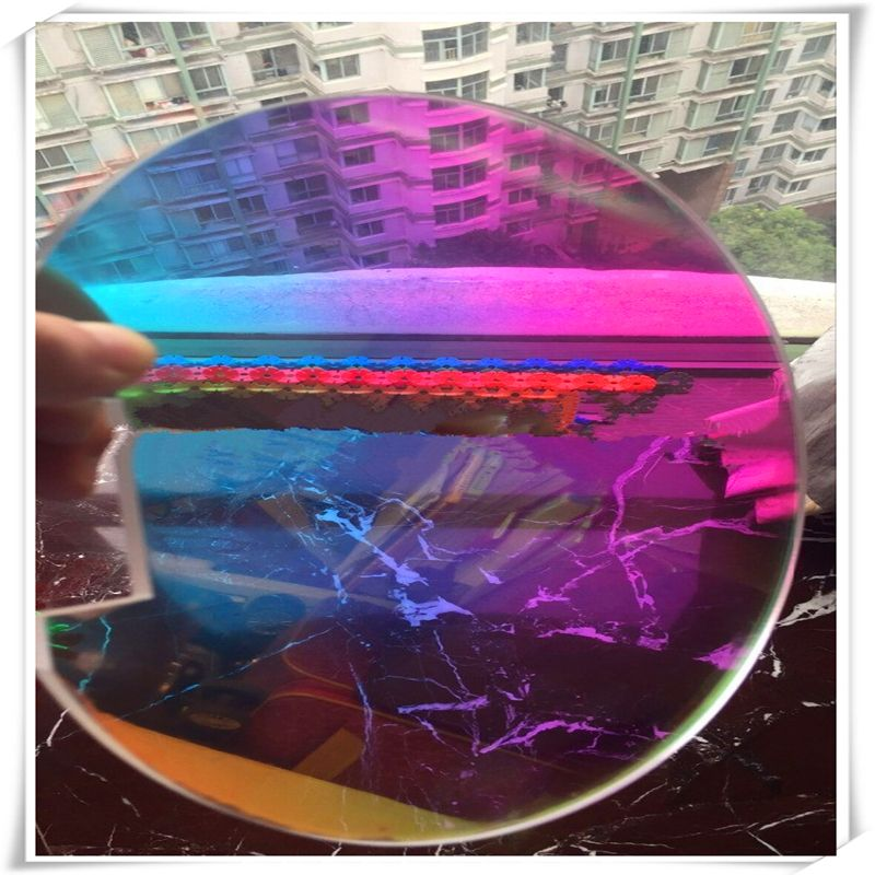 26mic JRB-2690-01 Shining Film Iridescent Film Dichroic PET Rainbow Film 1020mm W*100m L