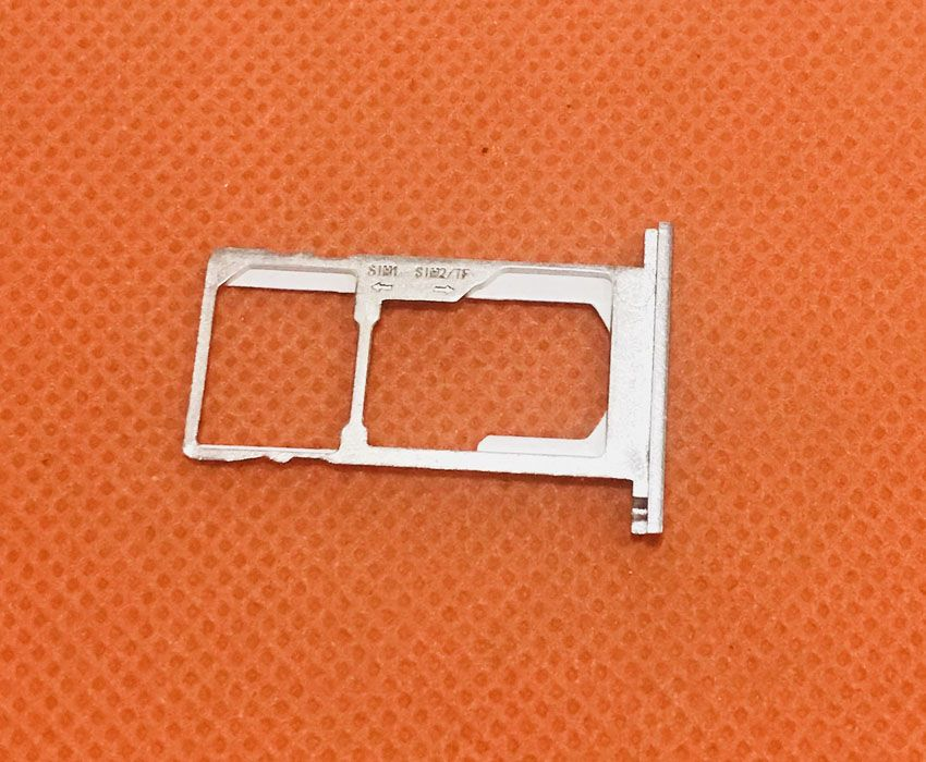 Used Original Sim Card Holder Tray Card Slot for Oukitel K10000 Pro MTK6750T 5.5