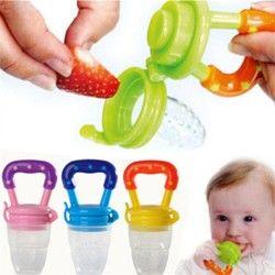 Chupeta Silikon Lucu Dot Bayi Pakan Anak-anak Makan Penenang Puting Feeder Alat Nibbler Anak Laki-laki dan Perempuan Nibbler Alat Bayi Kecepatan