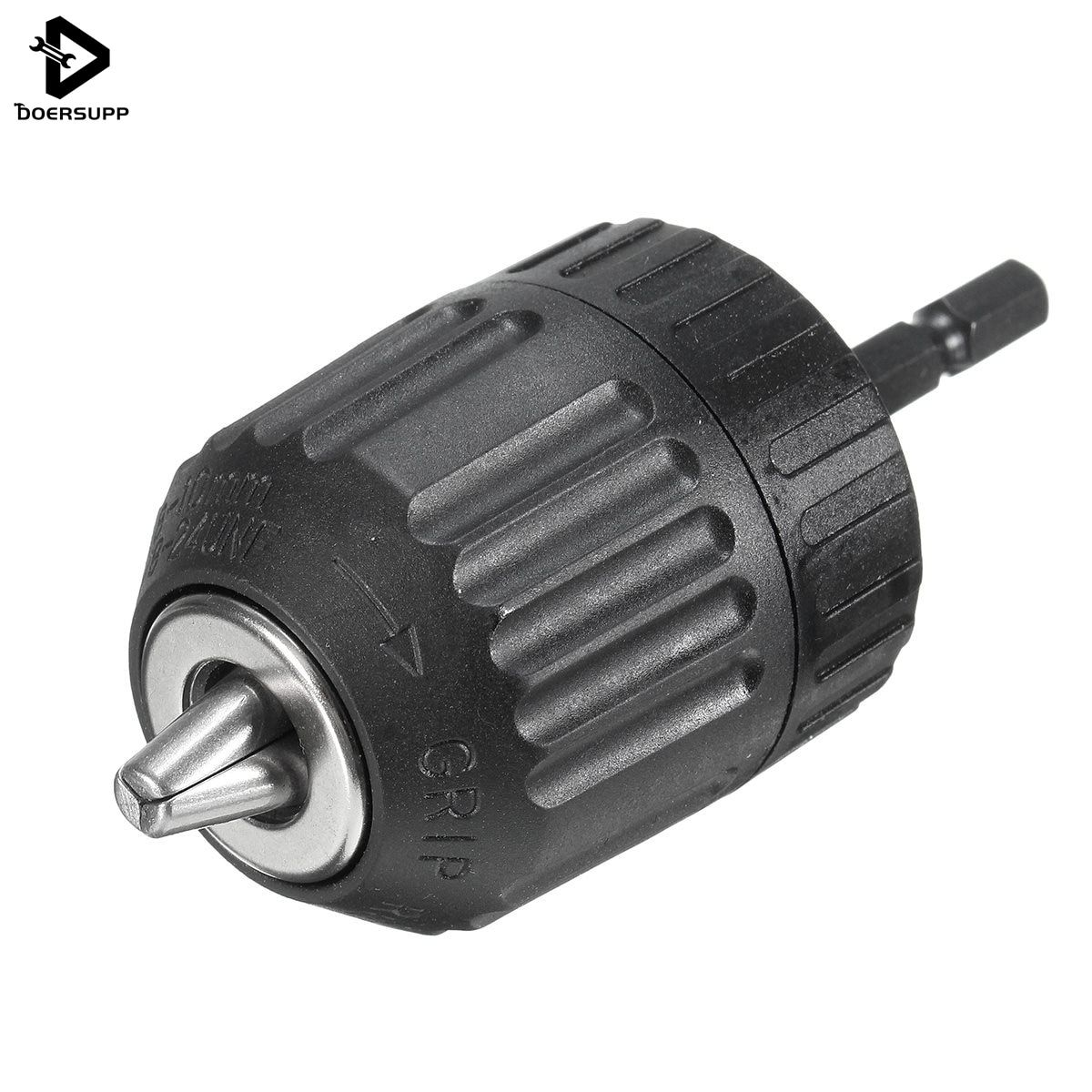 Top Quality 1PC 0.8-10mm Keyless Drill Chuck Converter 3/8
