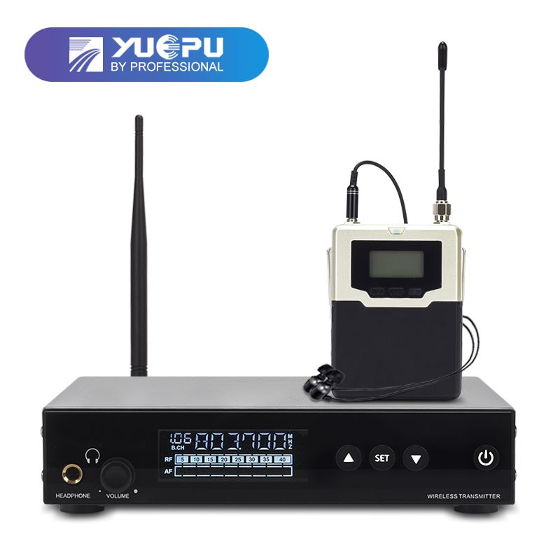 Top Quality! RU-560 Monitoring System Wireless in ear Monitor Professional for Stage Performance