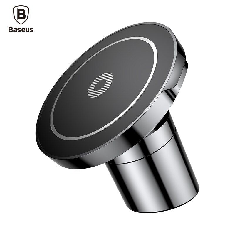 Baseus Car Mount Qi Wireless Charger For IPhone X 8 Samsung Note 8 S8 S7 Fast Wireless Charging Magnetic Car Phone Holder Stand