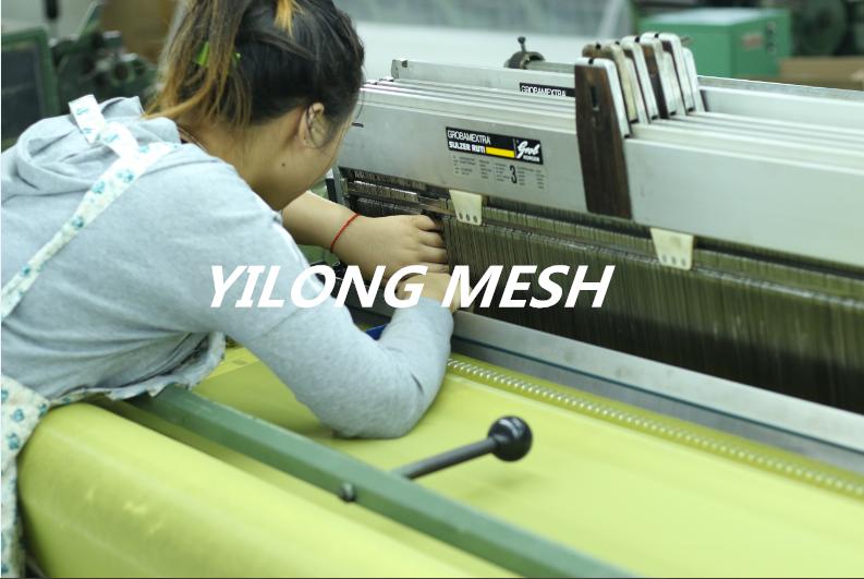 Schnelle Delievery!!! gelb 10 Meter 140 T (355 mesh)-165 cm Monofilament Polyester Siebdruck Mesh