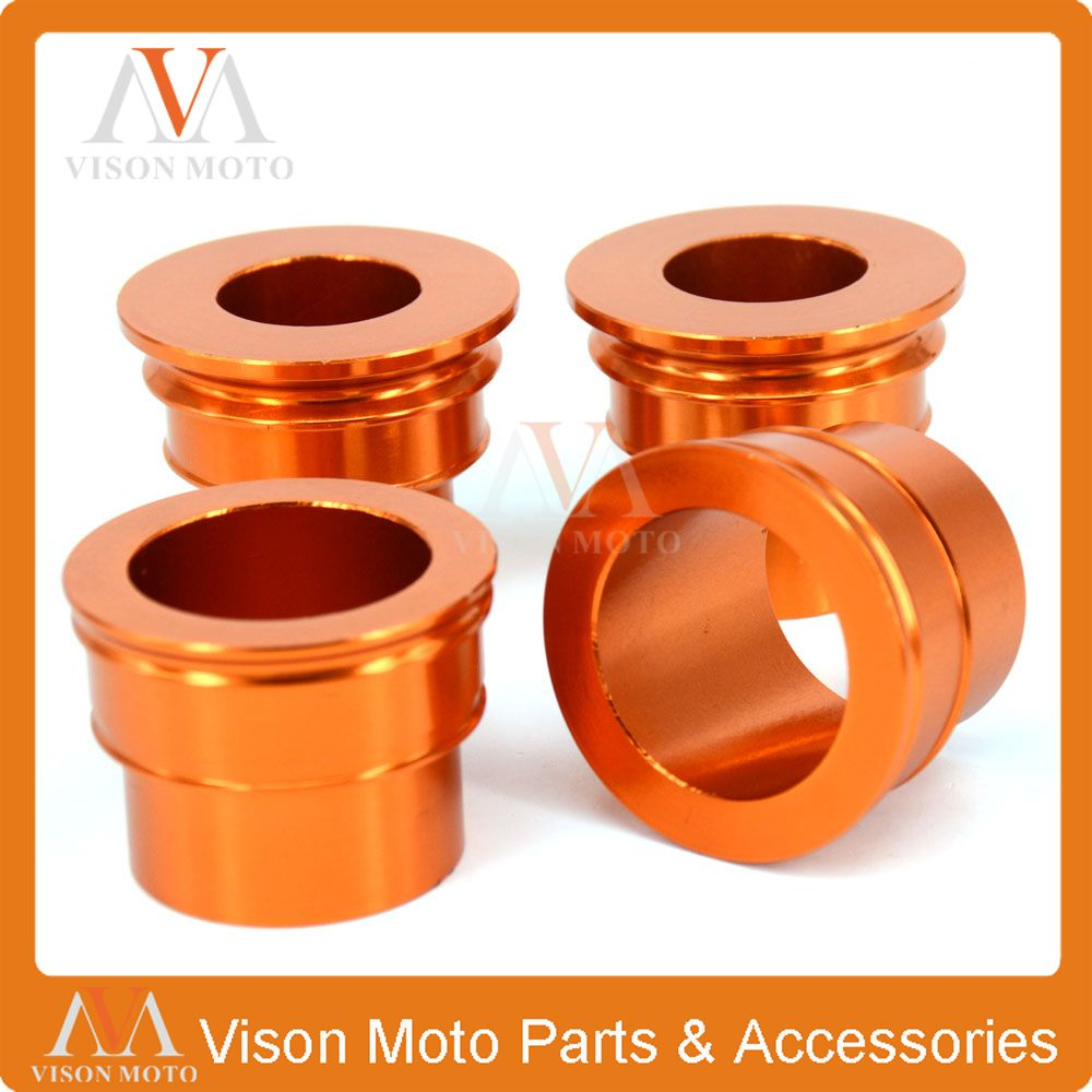 CNC Front & Rear Wheel Hub Spacers For KTM SX SXF XCF EXC EXCF EXCW XCW SMR 125 150 200 250 300 350 400 450 500 505 525 530