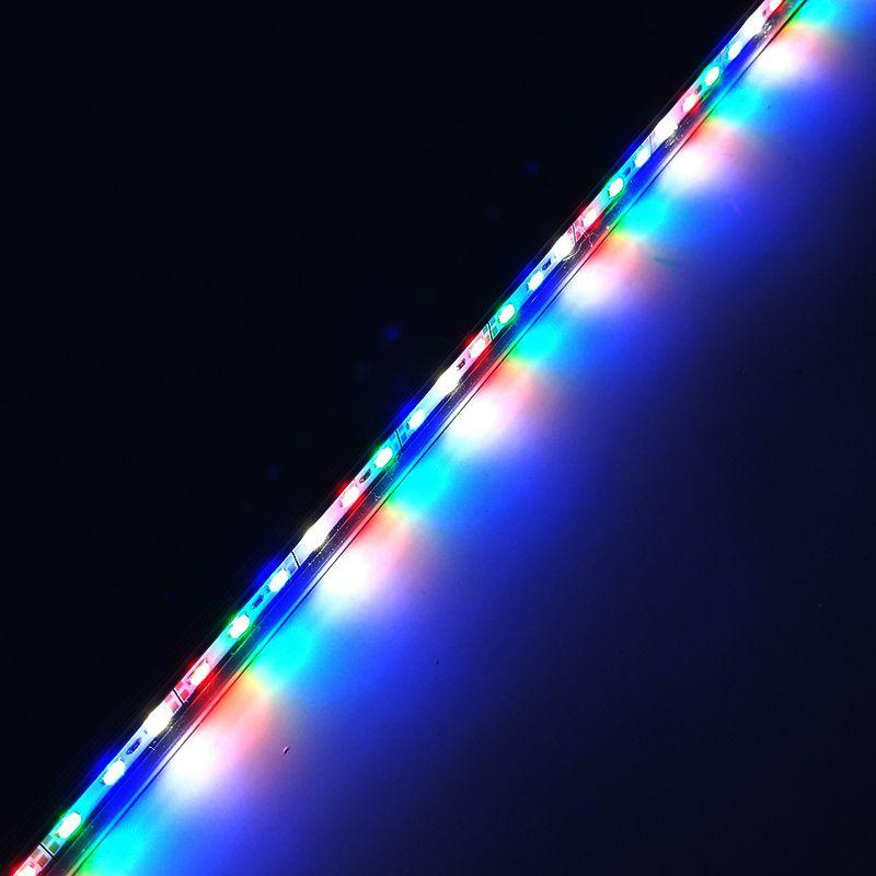 2 шт. DC12V 0.5 м 5730 IP68 Водонепроницаемый растут свет привел бар жесткая лента красные, синие 5:1, 4:2 для аквариума Green House гидропоники завод