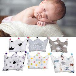 Bebé conformación almohada prevenir cabeza plana bebés punto de la Corona almohadas de cama recién nacido Boy Girl Room Decoración Accesorios 0-24 mes