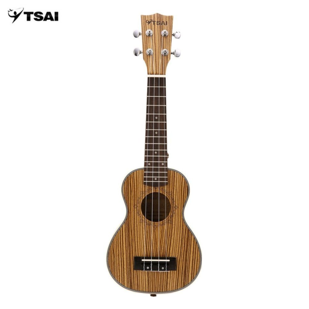 Zebra Ukulele Mini Guitar Ukelele Uke 4 Strings Rosewood Fingerboard Guitar Stringed Musical Instruments 21Inch/23Inch/26Inch
