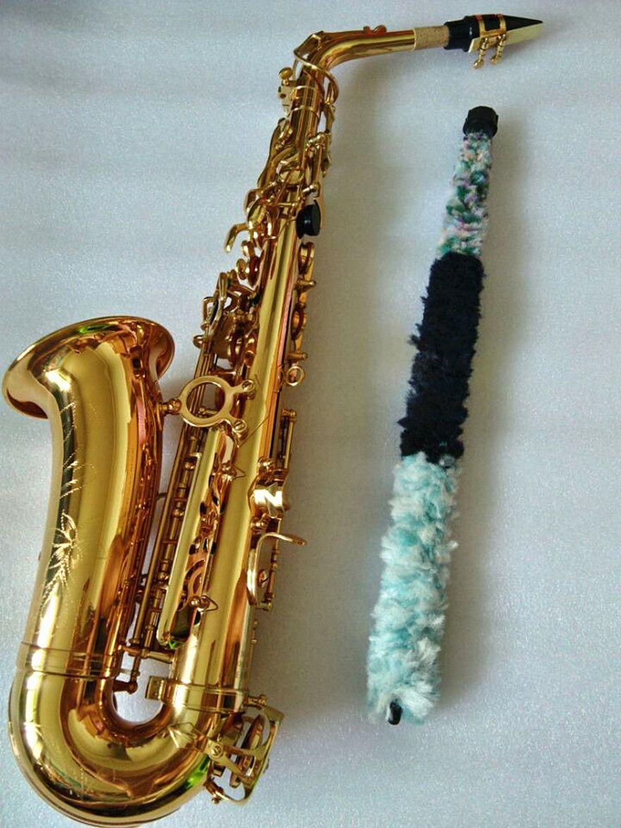 Saxophone Alto instrument de haute qualité SAS-802 nouveau doré alto saxo instrument image réelle manière dont le cadeau est expédié saxo