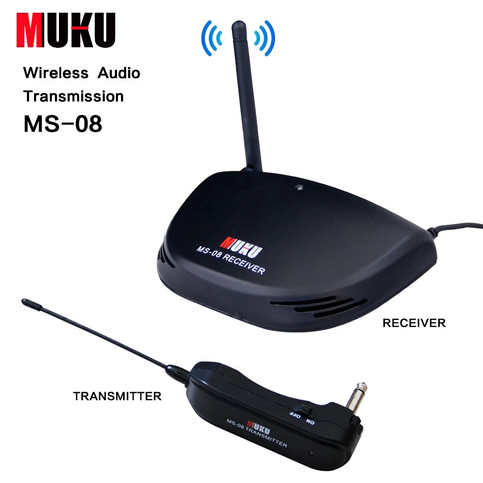MUKU MS-08  Wireless Audio Transmission  for all types of guitar and basses Guitar Accessories
