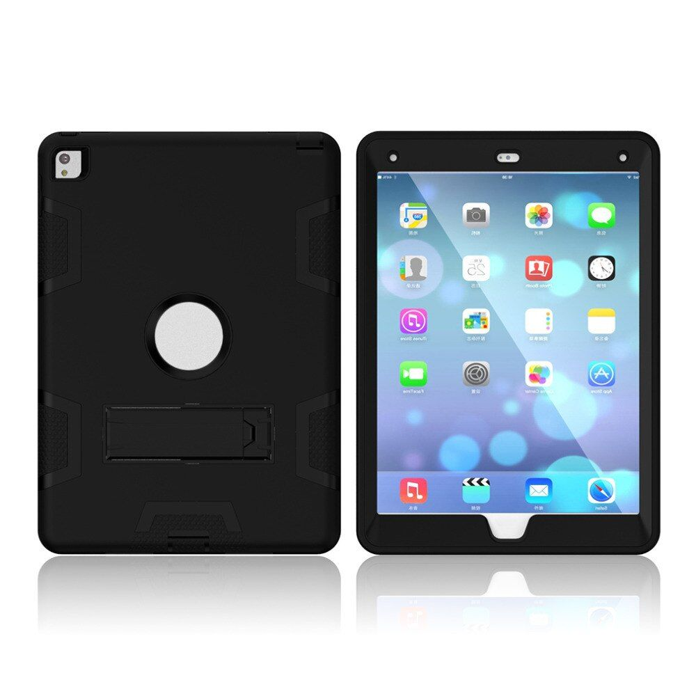 Tablet Cover Case Suitable For iPad Mini 3 2 1 Shockproof Silicone Hard Case Cover with Screen Protection Film + Stylus Set
