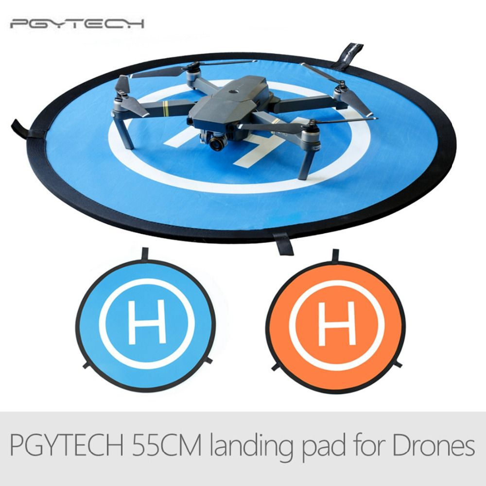 PGYTECH 55CM Fast-fold landing pad Spark helipad RC Drone Gimbal <font><b>Quadcopter</b></font> parts Accessories for DJI Phantom Mavic Spark