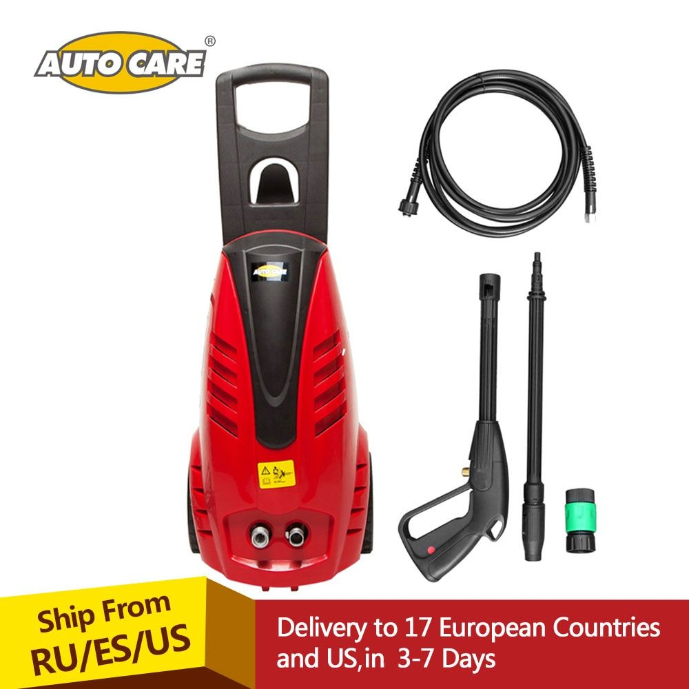 AutoCare 2030PSI 1.6GPM Electric Pressure Car Washer 1800W with Power Hose Nozzle High Pressure Gun and Bult-in Soap Dispenser